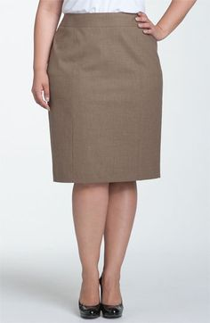 Sejour Pencil Skirt (Plus) available at #Nordstrom