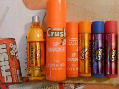 The Orange Crush Lip Smacker. Vintage GIANT size. I want one.