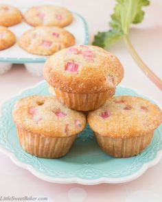 These soft and fluffy rhubarb muffins have a crunchy sweet sugar topping and just the right amount of tang. They have a lovely vanilla flavor and they're loaded with pretty pink chunks of fresh rhubarb. My awesome neighbor gave me a huge bunch of fresh rhubarb from her garden. I was absolutely thrilled and wanted...Read More »
