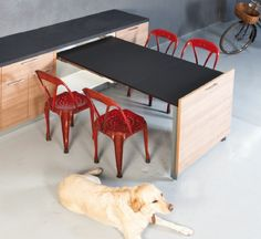Evolution Pull Out Table Extension Leaf | Buy Online | BOX15