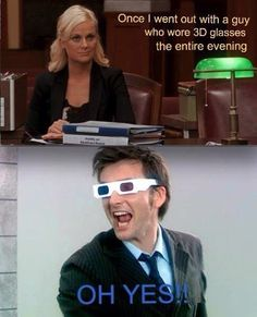 I wouldn't mind dating a cute guy in 3D glasses. ;)