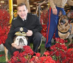 LTG Talley with Tillman at the Rose Parade 2013