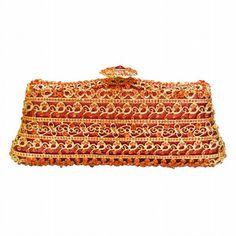 Lady Crystal Handbag Luxury Evening Party Bag Clutch Bag Jewel Case Mini Bag Bolsos De_7     https://www.lacekingdom.com/