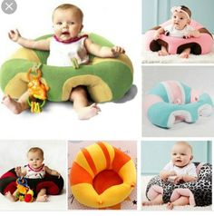 Baby Chair Baby Cute Support Seat Sofa Learning To Sit Comfortable Travel Car Seat Pillow Cushion Plush Toys For Baby Years