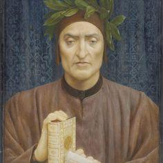 Dante Alighieri, Portrait, Painting, Exhibitions, Medieval, Legends, Europe, Dark, Live