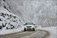 Peugeot 3008 Foto Winter Test sulle Alpi francesi