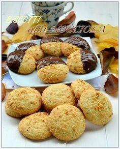 Biscotti alla nocciola Biscotti Biscuits, Biscotti Cookies, Galletas Cookies, Italian Cookies, Italian Desserts, Italian Recipes, Nutella, Baking Recipes, Cookie Recipes