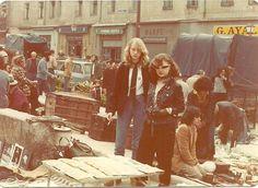1977 olvido gara y elisabetta ratti en el rastro madrileño