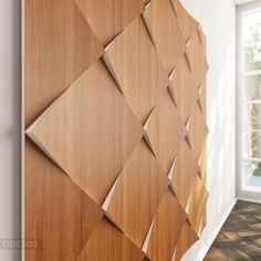 Thus using panels make it possible to refresh existing interior or design new one from scratch — all you need is calculate requred amount. Pattern Texture, Modular Walls, 3d Wall Panels, Interior Concept, Wall Finishes, Acoustic Panels, Wall Cladding, Wood Paneling, Panelling