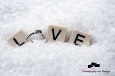 LOVE, Winter Engagements Photography ideas<3