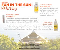 Enjoy the sun and protect your skin with ZERO chemicals!