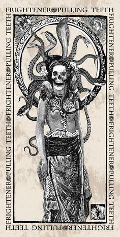 Memento Mori, Baphomet, Anubis, Illustrations, Illustration Art, Astro Tarot, The Lovely Bones, Satanic Art, Magic Symbols