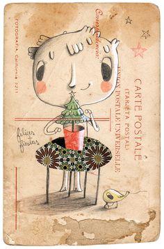 Gustavo Aimar ilustrado