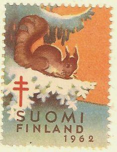 Kirjeitä myllyltäni: Joulumerkkejä ja vähän muitakin Christmas Images, Christmas And New Year, The Old Days, Mail Art, Stamp Collecting, Retro Design, Yule, Natural History, Postage Stamps