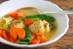 Light and Delicious: Italian Wedding Soup and I bet it would be an easy gluten free conversion!