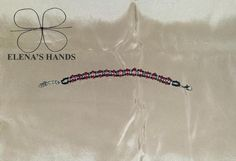 Braccialetto con perline fatto a mano @handmade #bracelete #handmadejewelry