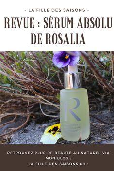 Revue Sérum absolu rose musquée de Rosalia - La Fille des Saisons Routine, Shampoo, Water Bottle, Personal Care, Green, Blog, Makeup Cosmetics, Seasons