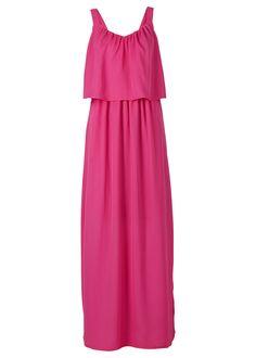 Şifon elbise, uzun, RAINBOW