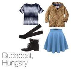 Budapest by skittlebug1 on Polyvore featuring Saint James, Aéropostale and Sam Edelman