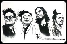 New Illustration given to Cafe Tacvba (posted on their Twitter).