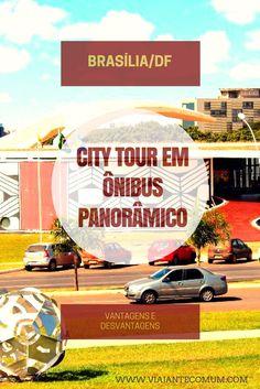 City Tour em Ônibus Panorâmico, Brasília-DF