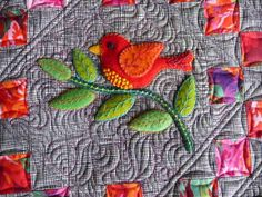 Wool for applique | Sewing & Quilt Gallery: Wonderful Wool Applique Quilt