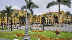 En nuestro blog te presentamos el conjunto arquitectonico de la Plaza Mayor de Lima