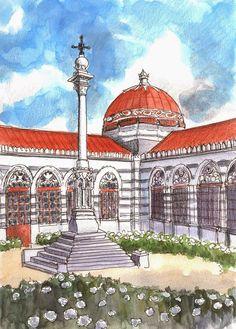 Dos preciosos edificios neobizantinos de Madrid.