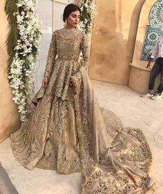 30 Stunning Pakistani Bridal Walima Dresses for Your Inspiration - Folder - 30 Stunning Pakistani Bridal Walima Dresses for Your Inspiration – Folder Source by - Asian Bridal Wear, Asian Bridal Dresses, Asian Wedding Dress, Bridal Outfits, Indian Dresses, Indian Bridal, Walima Dress, Shadi Dresses, Pakistani Wedding Outfits