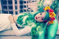 Annelisa Chevillon Fashion Illustrations: Seapunk é o mais recente ...
