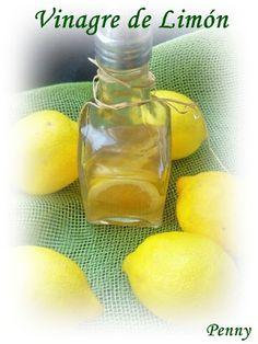 Vinagre de Limón Vinegar, Fruit, Vegetables, Eat, Tips, Food, Beauty Stuff, Gourmet, Sweets