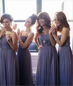 bridesmaid dresses by Donna Morgan