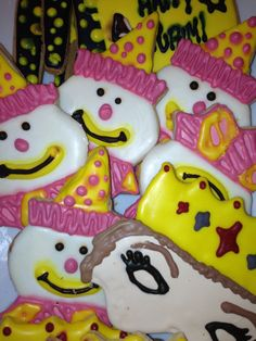 Cookies made specially for Purim for our Kosher friends on the Internet :)