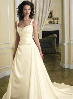 wedding dresses princess wedding dresses bling wedding dresses mermaid style a-line/princess square chapel bridal gown