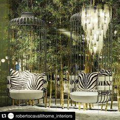 Um dos meus designers preferidos AMO #Repost @robertocavallihome_interiors with @repostapp.  Roberto Cavalli Home Interiors | Salone del Mobile 2016 | Hall 3 xLux - Stand C23  #robertocavalli #robertocavallihome #robertocavallihomeinteriors #design #art #blue #ottanio #bedroom #luxury #luxuryfurniture #luxurybedroom #salonedelmobile #milano #fiera #fair #furniturefair by paulaalcantaraarquitetura