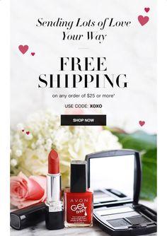 Free Shipping use code xoxo @ www.youravon.com/karencrane