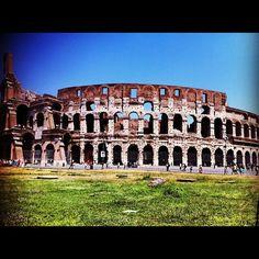 The Coliseum: Rome, Italy #RRItaly