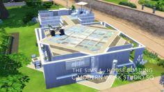 The Sims 4 - House Building - C.Modern Work Studio SQ