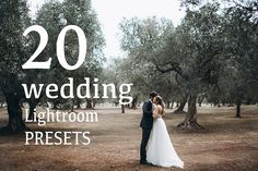 20 WEDDING and portrait Lightroom Presets.  This set includes 20 my favourite presets (17 color and 3 bw) I was creating for last 6,5 years while retouching my wedding and portrait photoshoots. Based on film effect (mostly contain grain), presets have beautiful skin tone, faded colors and soft tones, comfortable black, film simulation.   @creativework247
