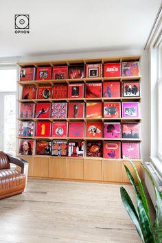 Record Display, Record Wall, Artwork Display, Display Wall, Vinyl Storage, Record Storage, Record Collection, Vinyl Records, Wood Finishing