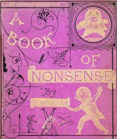 A Book of Nonsense   Edward Lear