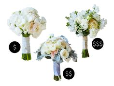 Love ranunculus? (Us too!) Here's how to get a bridal bouquet including your favorite stem—without losing sight of your budget.