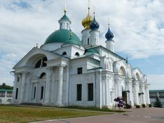 The beauty of Russian churches.