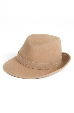 I would rock a messy fishtail braid or low pony with this hat. felt trilby  - Black  0af99a23c01b
