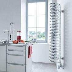 Дизайн-радиатор Runtal Spirale #радиаторыотопления #дизайнерскиерадиаторы #дизайн #дизайнинтерьеров