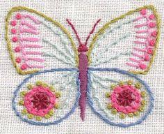 Butterflies transfer download from Nancy Nicholson