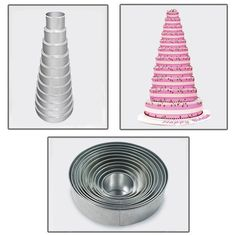 11 Tier Round Multilayer Wedding Birthday Anniversary Cake Baking Pans  Cake Tins * Read more at the affiliate link Amazon.com on image.