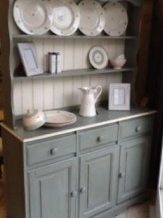 VINTAGE September 2013: Restored Dresser with Plate Rack £550 from www.blakesvintage.com