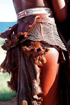 Himba traditional dress