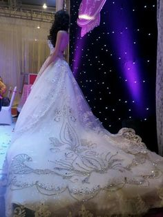 >> Click to Buy << Luxurious Glittering Crystal Cathedral Train Sweetheart Wedding Dress For Women Special Gown Sleeveless Lace-up Organza Custom #Affiliate